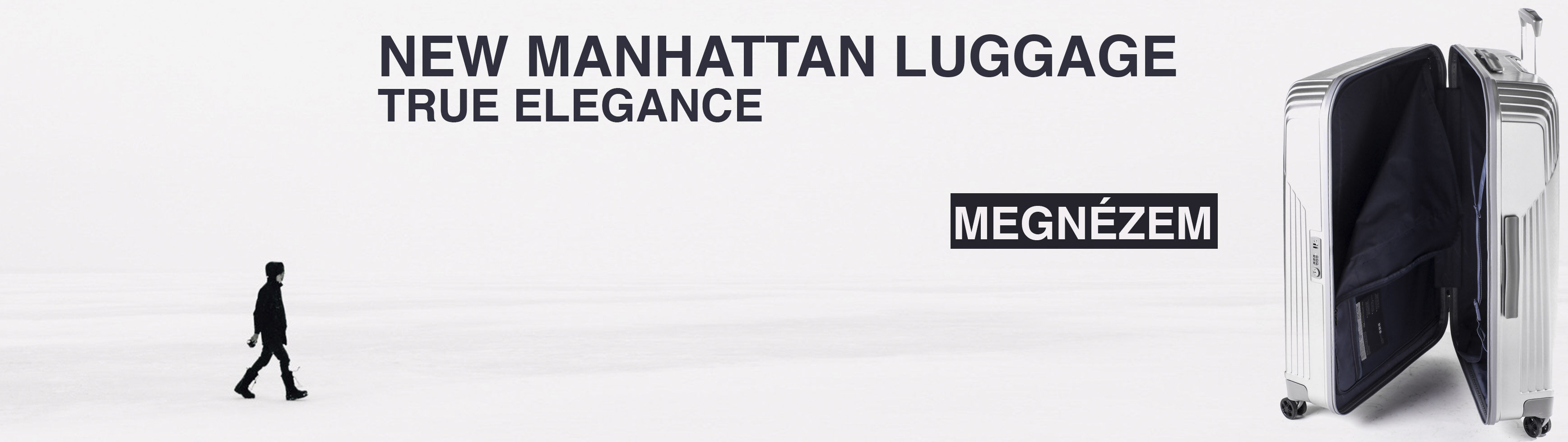 New Manhattan - Felsőkategóriás Bőrönd
